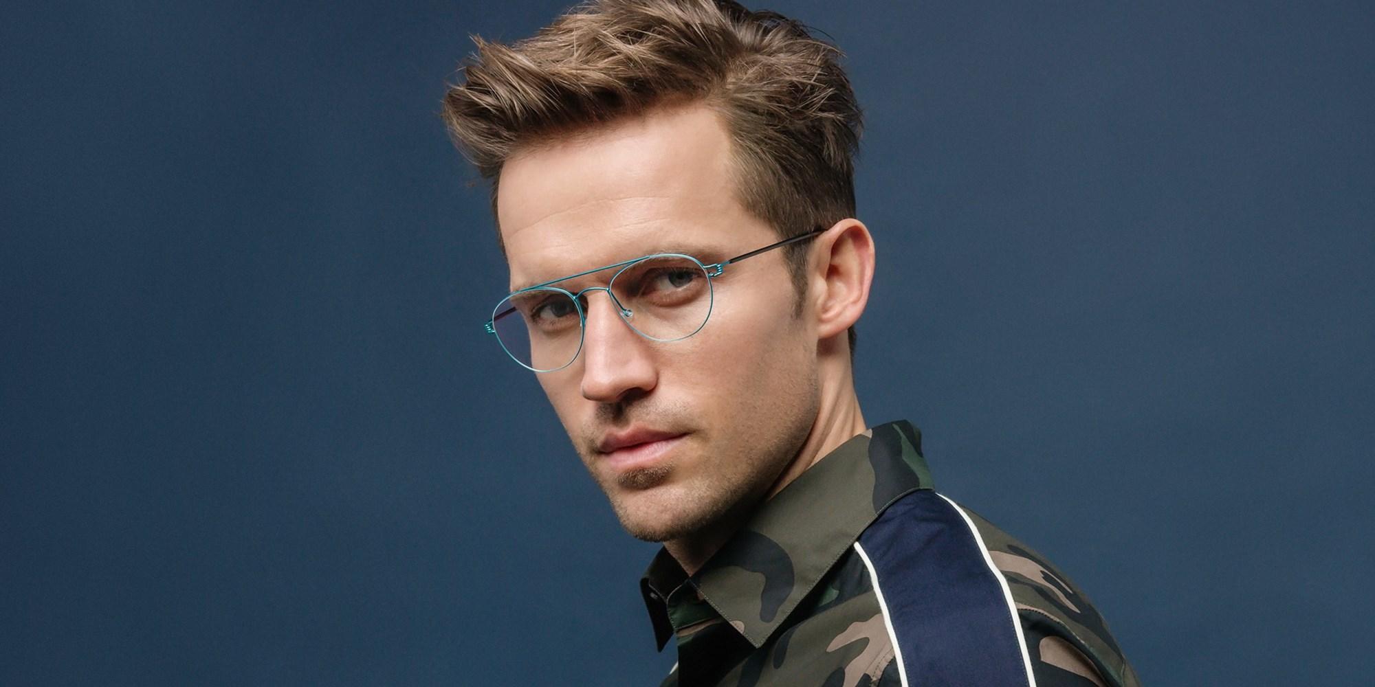 איך מתאימים משקפיים  למבנה הפנים